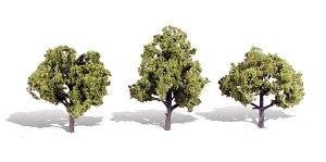Woodland Scenics Other WTR3509 3 Early Light Trees Light 4 - 5in 10-13cm