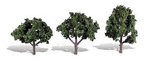 Woodland Scenics Other WTR3511 3 Cool Shade Trees Dark 4 - 5in 10-13cm