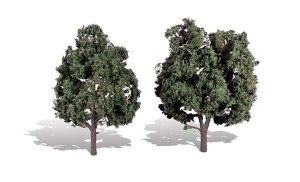Woodland Scenics Other WTR3514 2 Cool Shade Trees Dark 5 - 6in 13-15cm