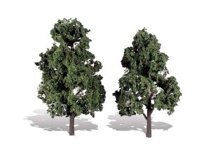 Woodland Scenics Other WTR3517 2 Cool Shade Trees Dark 6 - 7in 15-18cm