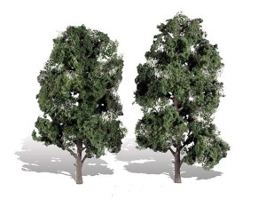 Woodland Scenics Other WTR3521 2 Cool Shade Trees Dark 8 - 9in 20-23cm