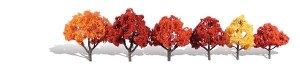 Woodland Scenics Other WTR3541 6 Harvest Blaze Trees Fall 3 - 5in 8-13cm