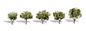 Woodland Scenics Other WTR3546 5 Early Light Trees Light 1.25-2in 3-5cm