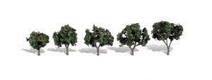 Woodland Scenics Other WTR3548 5 Cool Shade Trees Dark 1.25-2in 3-5cm