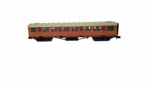 Dapol N 2P-011-106 Gresley Coach LNER Teak 1st Class 318767