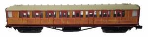 Dapol N 2P-011-011 Gresley LNER Teak 3rd Class 60648