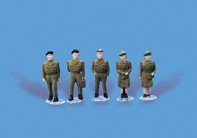 Modelscene 5082 Loco Crew /& Guard OO Gauge
