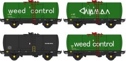 Chipmans Weedkiller tanks (4x wagon pack) (CC48115+CC48116+CC48117xCC48120)