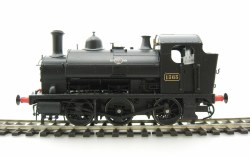 Class 1361 0-6-0ST 1365 BR Black Early Emblem
