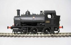 Class 1361 0-6-0ST 1363 BR Black Late Crest