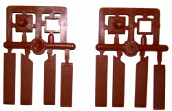 Signal Box Chimney Mouldings pair