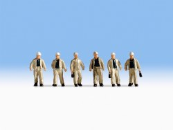 Miners (6) (HO Scale)