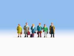 Waiting Passengers (6) (HO Scale)