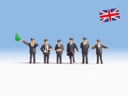 British Railway Staff (HO Scale)