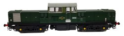 Class 17 BR Green with Small Yellow Panels D8502