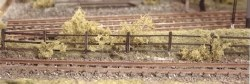 Lineside Fencing wood brown