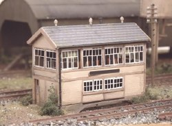 GWR Wooden Signal Box including interior