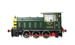 Class 05 D2578 BR Green with Wasp Stripes