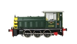 Class 05 D2581 BR Green with Wasp Stripes