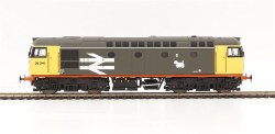 Class 26/1 26040 BR Railfreight Grey Red Stripe Livery