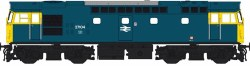 Class 27 27104 BR Blue with Full Yellow Ends