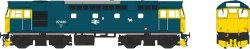 Class 27 27030 BR Blue with Full Yellow Ends (Lightly Weathered)
