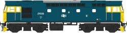 Class 27 27033 BR Blue with Full Yellow Ends