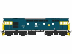 Class 27 27029 BR Blue with Full Yellow Ends