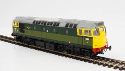 Class 27 5380 BR Two-Tone Green with Full Yellow Ends (Lightly Weathered)