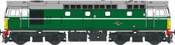 Class 27 D5369 BR Green with Small Yellow Panels (V3)