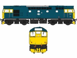 Class 27 5357 BR Blue with Full Yellow Ends (V3)
