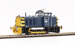 Class 07 Diesel Shunter (V1) D2992 in BR Blue with Wasp Stripes