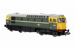Class 33/0 D6561 BR Green Full Yellow Front