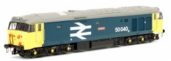 Class 50 Leviathan 50040 BR Blue Large Logo