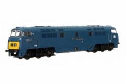 Class 52 Western Duke BR Chromatic Blue SYE D1043 Large Double Arrows