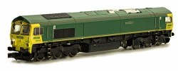 Class 66 Co-Co 66 612 Freightliner Unbranded
