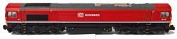 Class 66 66114 DB Schenker Red