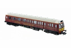 Class 121 977858 BR Maroon Small Yellow Panels
