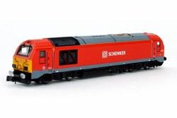 Class 67 67015 DB Schenker Red