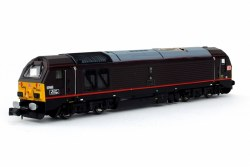 Class 67 Queens Messenger 67005 Royal Claret