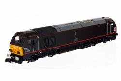 Class 67 DB 67006 Royal Sovereign