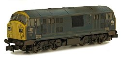 Class 22 B-B D6330 BR Blue with Full Yellow Ends Weathered