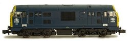 Class 22 B-B D6328 BR Blue with Full Yellow Ends