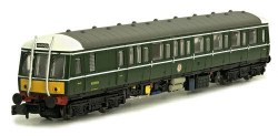 Class 122 W55006 BR Green with Small Yellow Panels