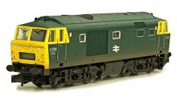 Class 35 Hymek B-B D7026 BR Blue with Full Yellow Panels Weathered