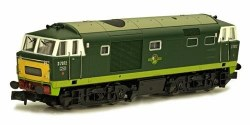 Class 35 Hymek B-B D7072 BR Two Tone Green (Dummy Unit)