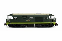 Hymek D7003 Two Tone Green No Yellow Warning Panel Late Crest