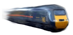 Class 43 HST GNER Blue 43106/43109