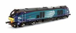 Class 68 Rapid 68004 DRS Compass