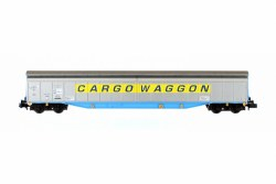 Ferry Wagon Cargowaggon 33 80 279 7516-2 Yellow Stripe